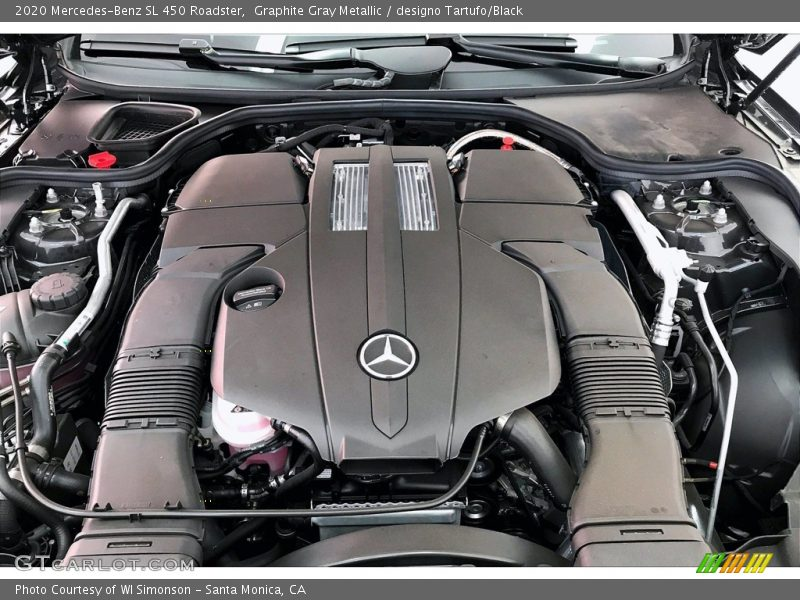 2020 SL 450 Roadster Engine - 3.0 Liter Turbocharged DOHC 24-Valve VVT V6