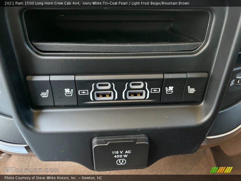 Controls of 2021 1500 Long Horn Crew Cab 4x4