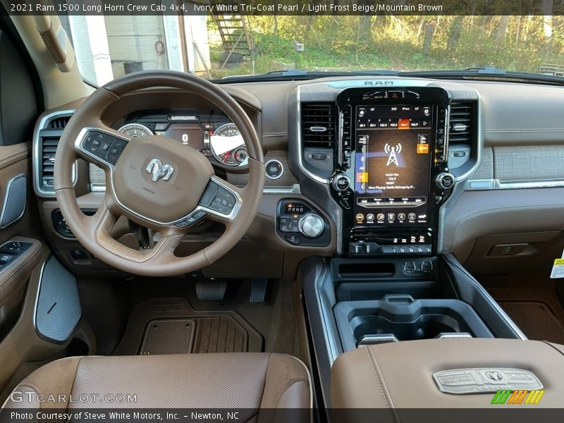 Dashboard of 2021 1500 Long Horn Crew Cab 4x4