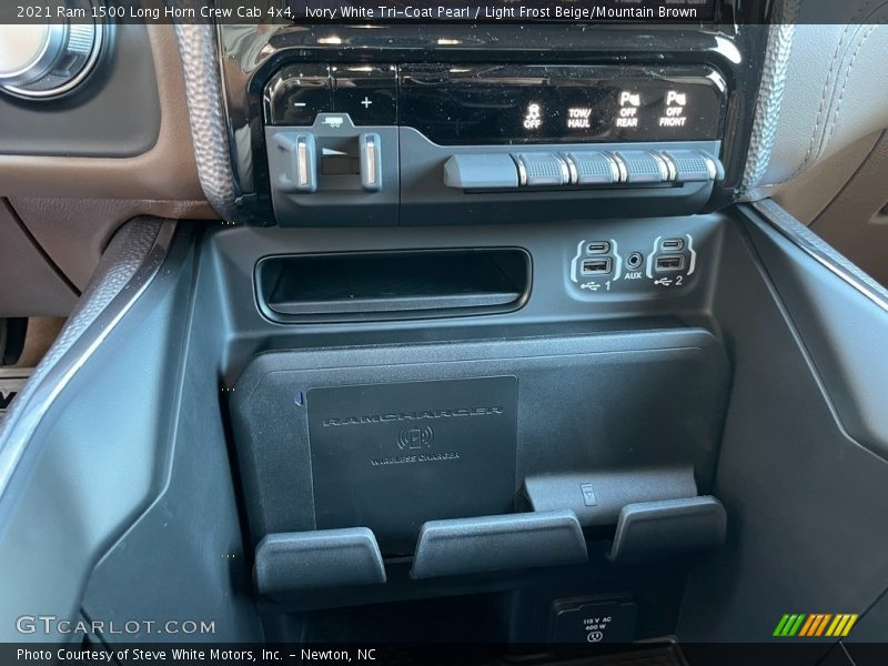 Controls of 2021 1500 Long Horn Crew Cab 4x4