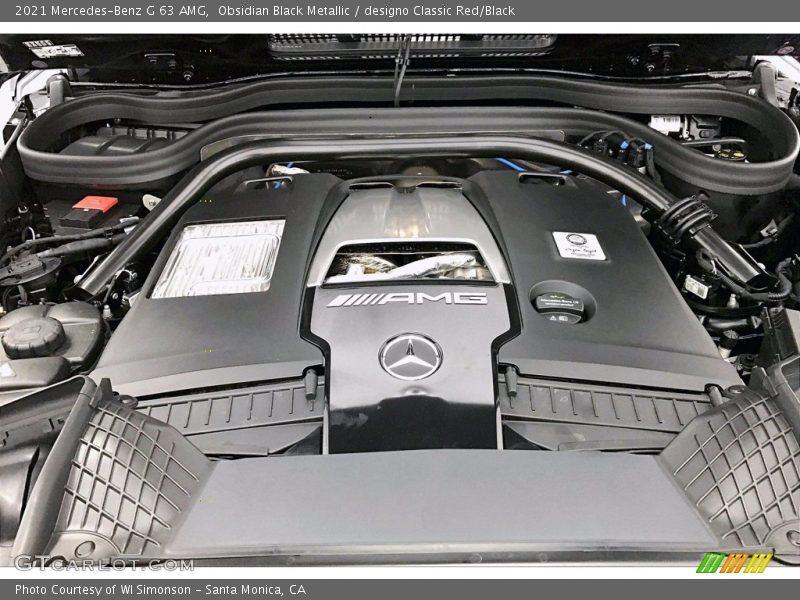 2021 G 63 AMG Engine - 4.0 Liter DI biturbo DOHC 32-Valve VVT V8