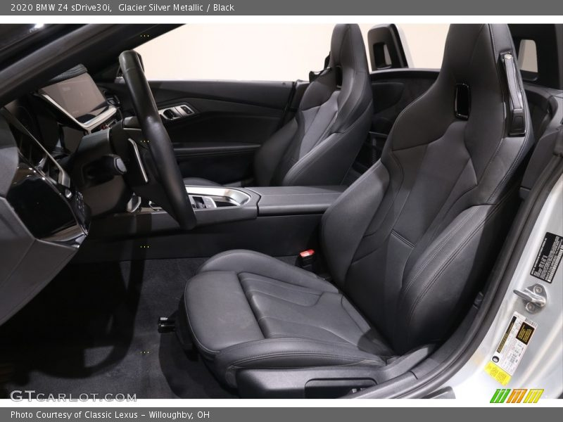 Front Seat of 2020 Z4 sDrive30i