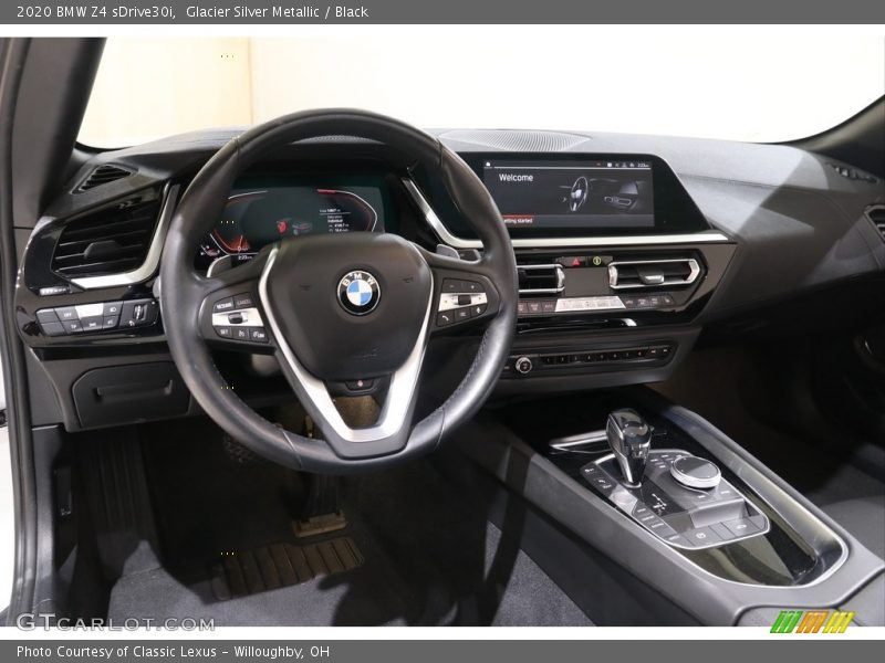 Dashboard of 2020 Z4 sDrive30i