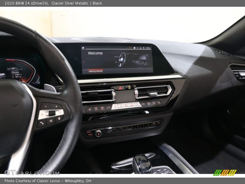 Glacier Silver Metallic / Black 2020 BMW Z4 sDrive30i
