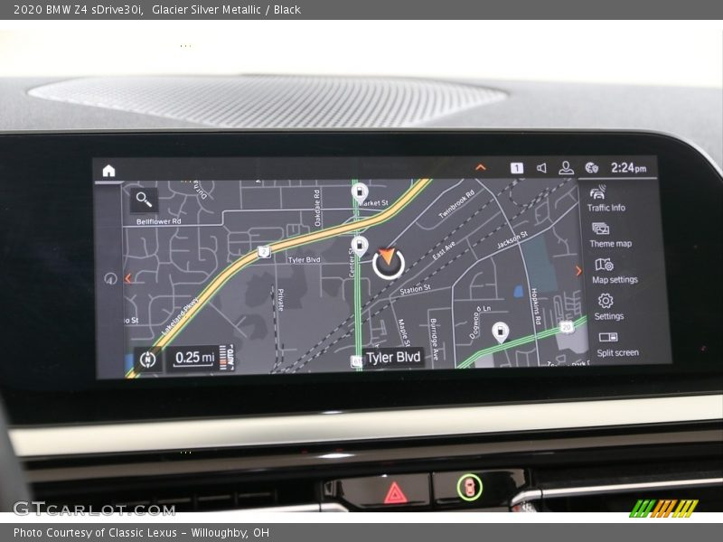 Navigation of 2020 Z4 sDrive30i