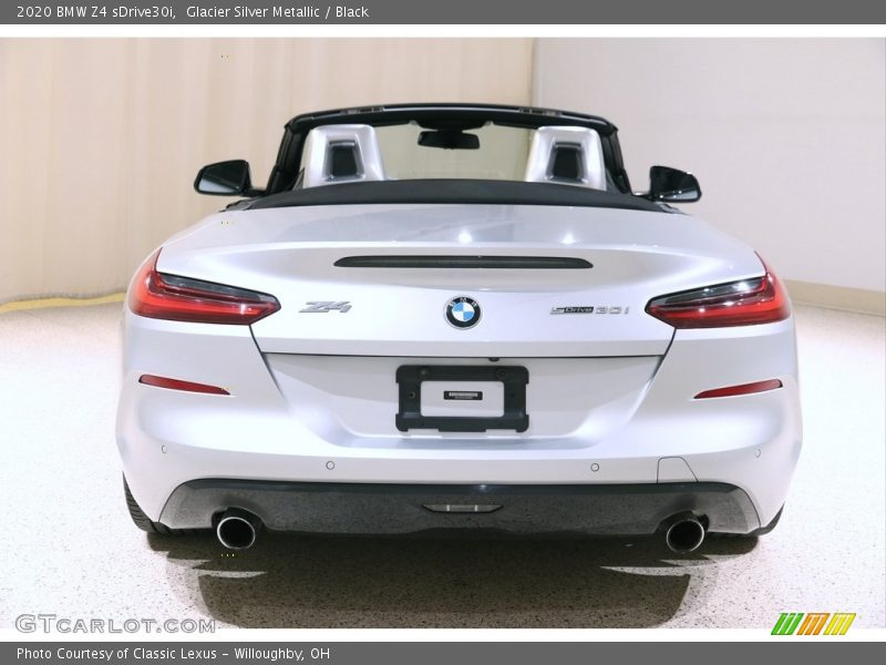 Glacier Silver Metallic / Black 2020 BMW Z4 sDrive30i