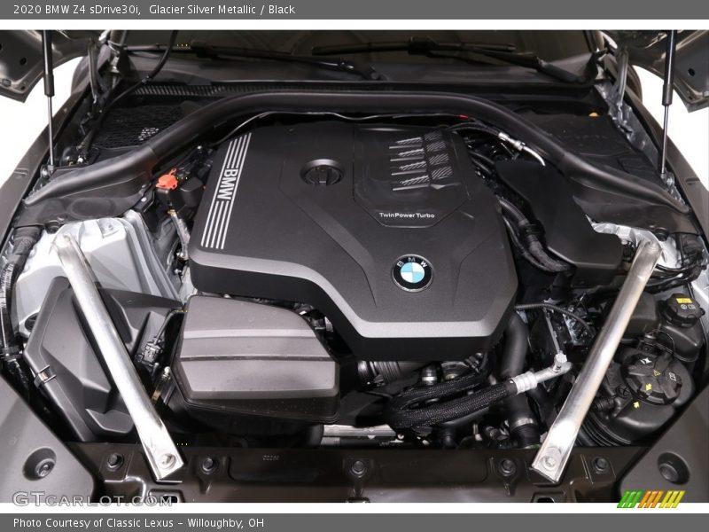 2020 Z4 sDrive30i Engine - 2.0 Liter DI TwinPower Turbocharged DOHC 16-Valve VVT 4 Cylinder