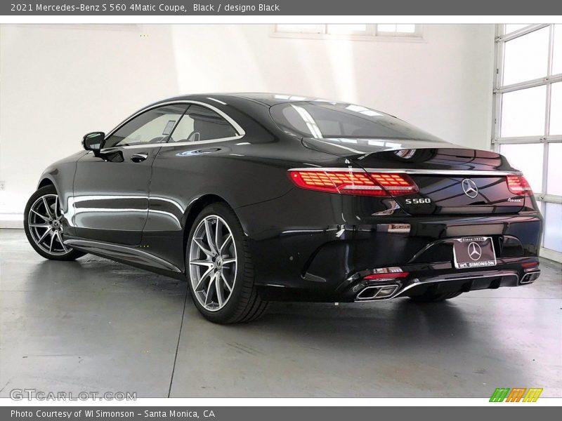 Black / designo Black 2021 Mercedes-Benz S 560 4Matic Coupe