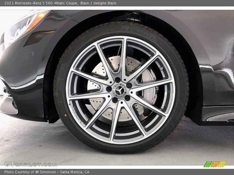 2021 S 560 4Matic Coupe Wheel