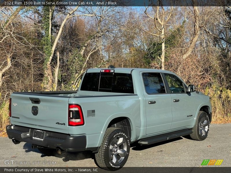Anvil / Black 2021 Ram 1500 Big Horn Crew Cab 4x4