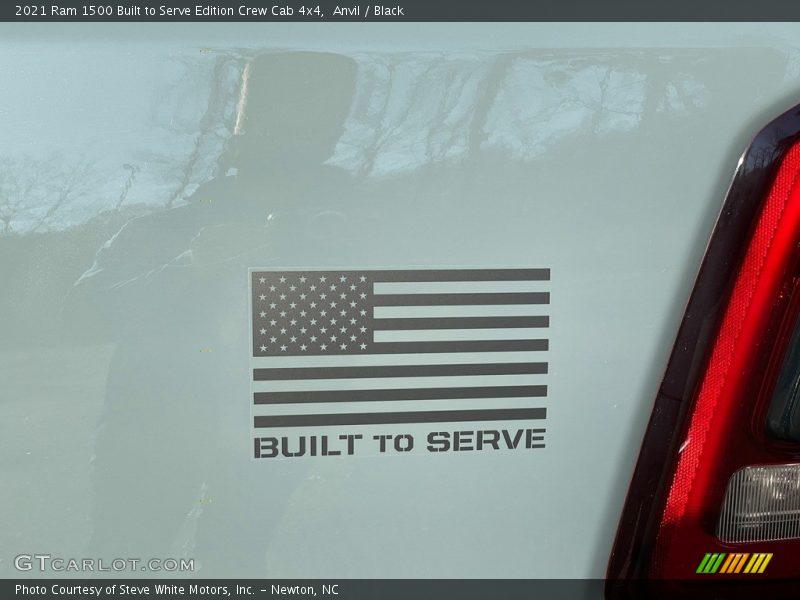 2021 1500 Big Horn Crew Cab 4x4 Logo