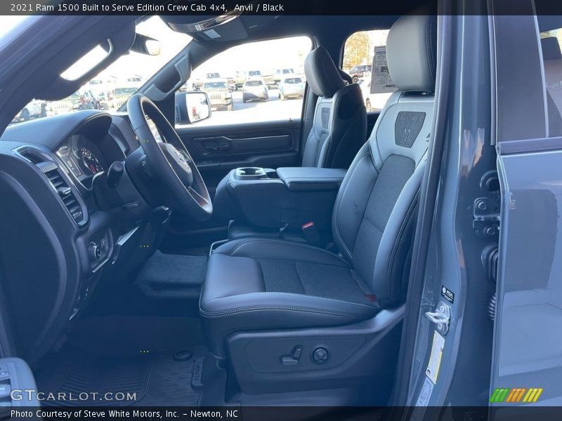 Front Seat of 2021 1500 Big Horn Crew Cab 4x4