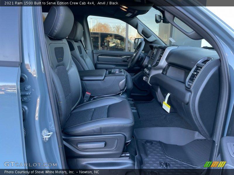 2021 1500 Big Horn Crew Cab 4x4 Black Interior