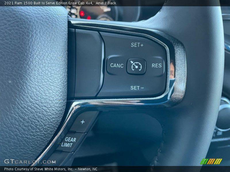 2021 1500 Big Horn Crew Cab 4x4 Steering Wheel