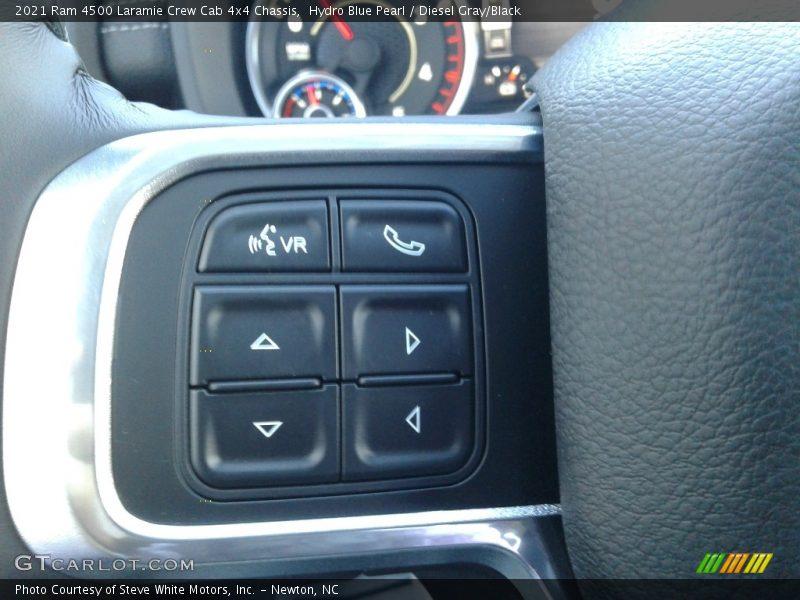 2021 4500 Laramie Crew Cab 4x4 Chassis Steering Wheel