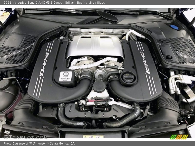 2021 C AMG 63 S Coupe Engine - 4.0 Liter AMG biturbo DOHC 32-Valve VVT V8