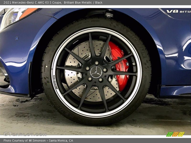 2021 C AMG 63 S Coupe Wheel
