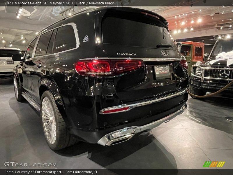 2021 GLS Maybach 600 Black