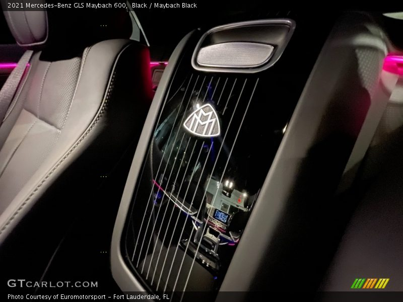 Rear Seat of 2021 GLS Maybach 600