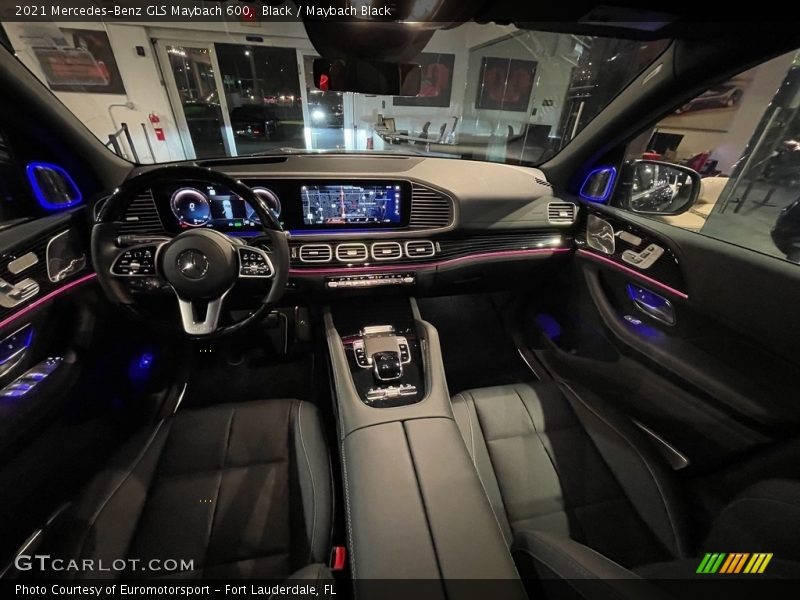 2021 GLS Maybach 600 Maybach Black Interior