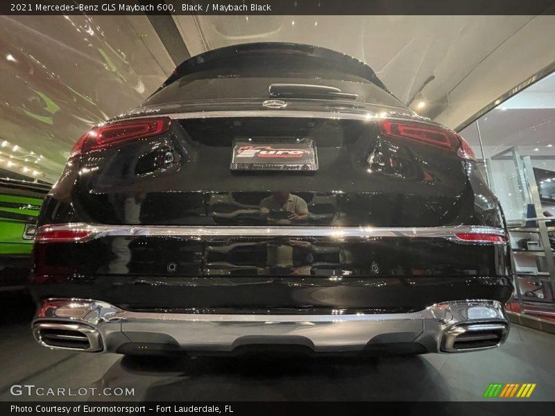 Black / Maybach Black 2021 Mercedes-Benz GLS Maybach 600