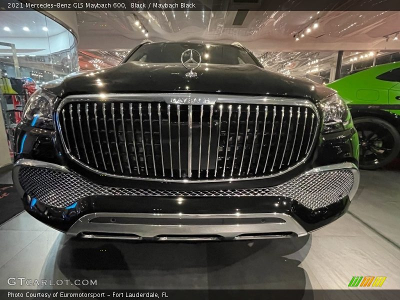 Black / Maybach Black 2021 Mercedes-Benz GLS Maybach 600