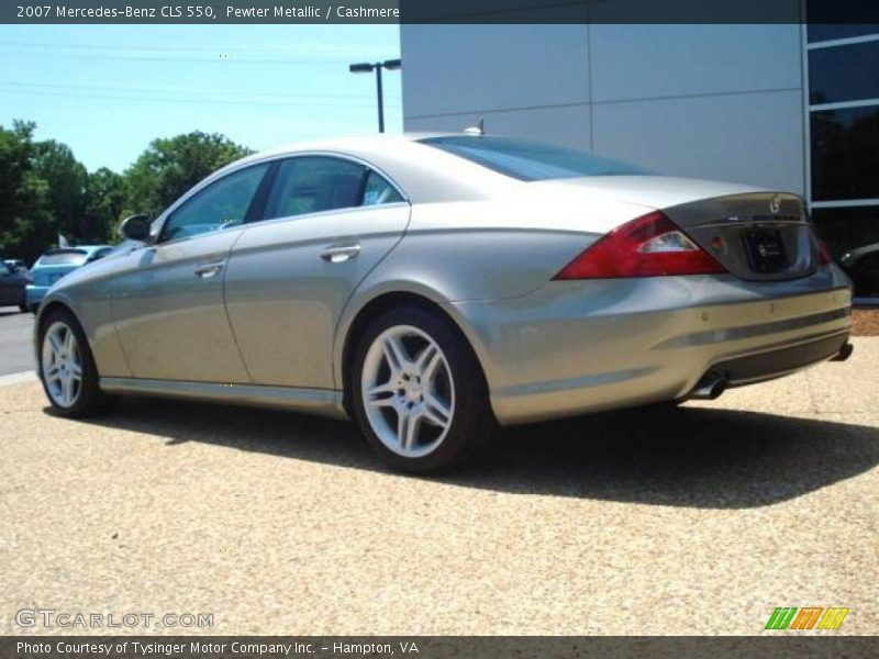 2007 mercedes benz cls 550 in pewter metallic photo no for 2007 mercedes benz cls