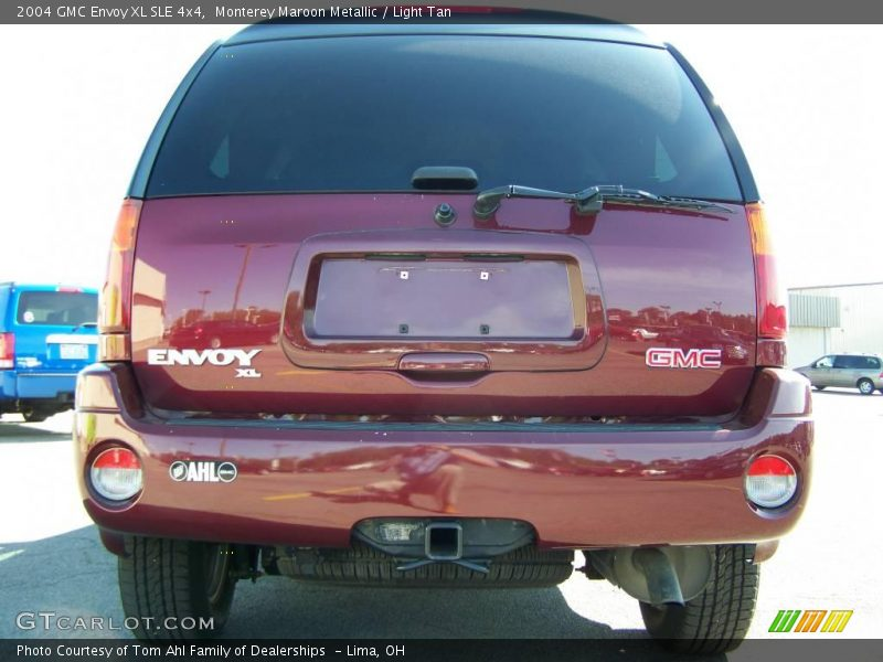2004 gmc envoy xl sle 4x4 in monterey maroon metallic. Black Bedroom Furniture Sets. Home Design Ideas