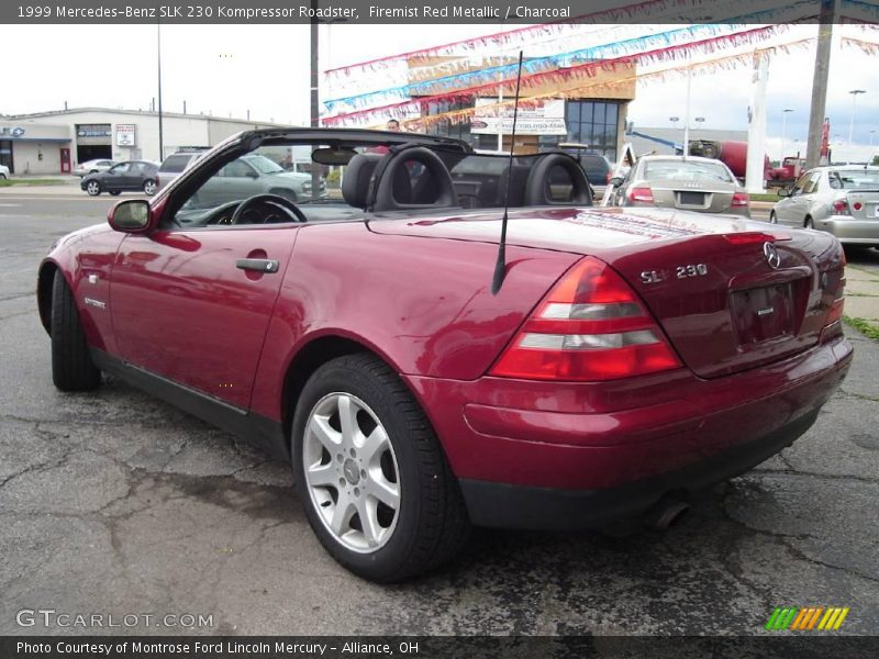 1999 mercedes benz slk 230 kompressor roadster in firemist for 1999 mercedes benz slk 230 kompressor