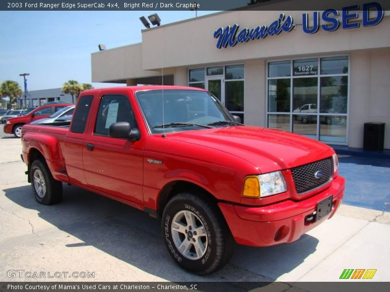 2003 ford ranger edge supercab 4x4 in bright red photo no 14397012. Black Bedroom Furniture Sets. Home Design Ideas