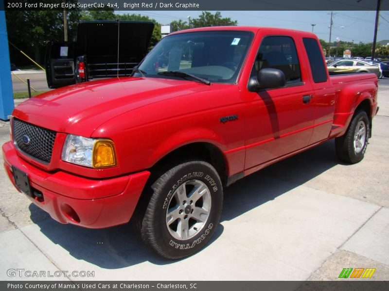 2003 ford ranger edge supercab 4x4 in bright red photo no 14397032. Black Bedroom Furniture Sets. Home Design Ideas