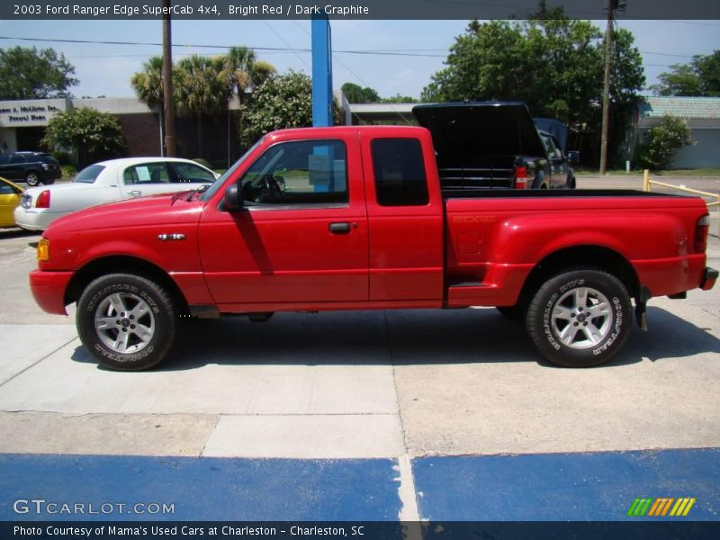 2003 ford ranger edge supercab 4x4 in bright red photo no 14397042. Black Bedroom Furniture Sets. Home Design Ideas