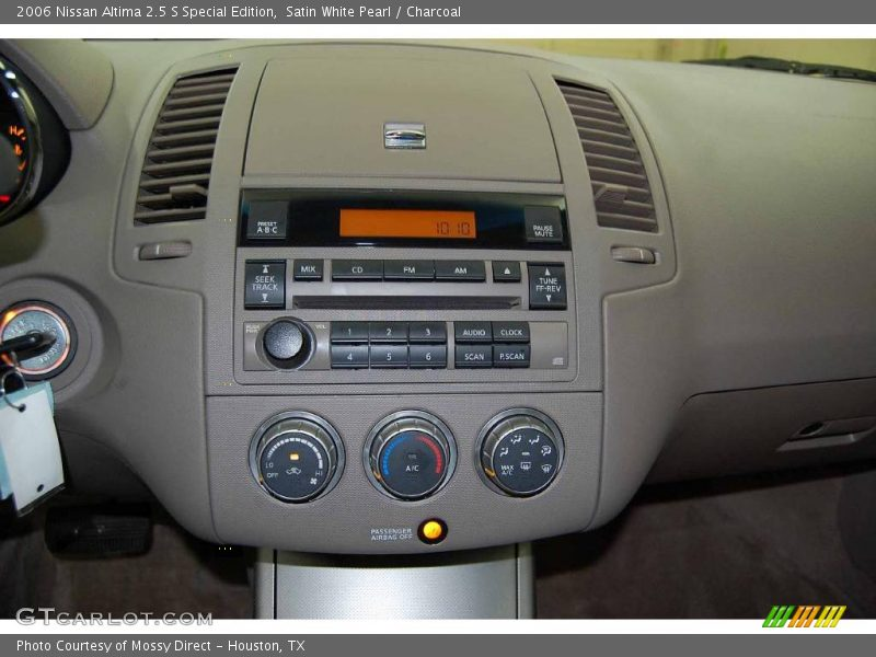 2006 nissan altima 2 5 s special edition in satin white pearl photo no 1453486. Black Bedroom Furniture Sets. Home Design Ideas