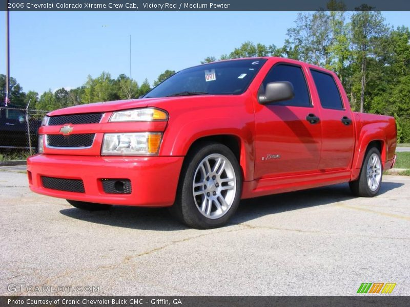 2006 chevrolet colorado xtreme crew cab in victory red photo no 14596135. Black Bedroom Furniture Sets. Home Design Ideas