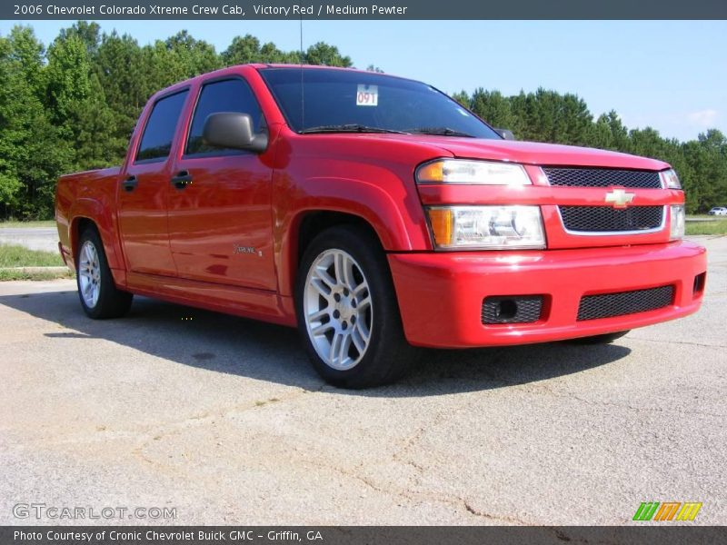 2006 Chevrolet Colorado Xtreme Crew Cab In Victory Red