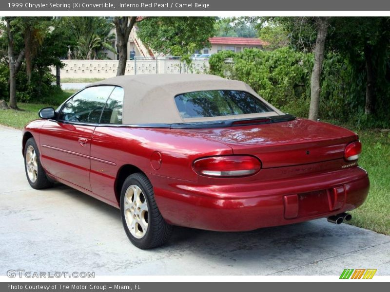 1999 chrysler sebring jxi convertible in inferno red pearl. Cars Review. Best American Auto & Cars Review