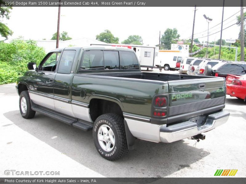 1996 Dodge Ram 1500 Laramie Extended Cab 4x4 In Moss Green