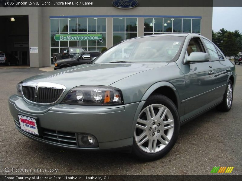 2005 lincoln ls v8 in light tundra metallic photo no 14610893. Black Bedroom Furniture Sets. Home Design Ideas