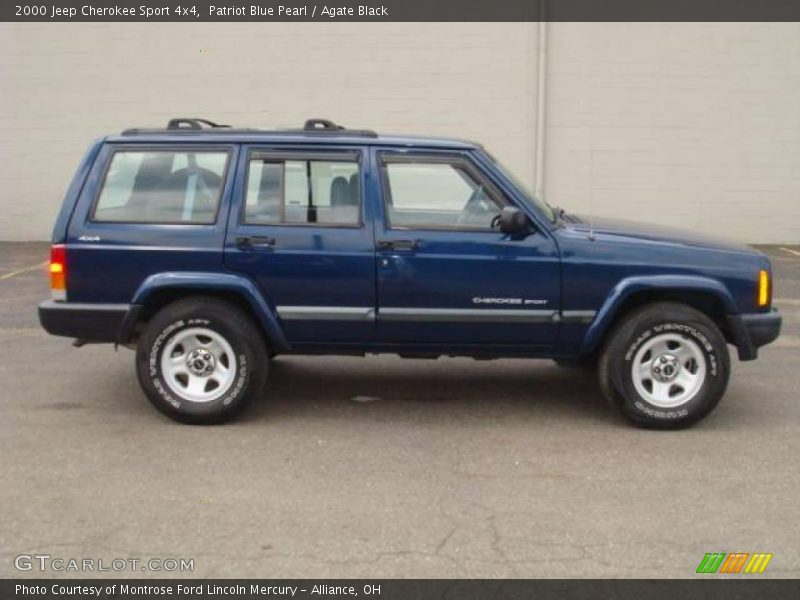 2000 jeep cherokee sport 4x4 in patriot blue pearl photo no 14617240. Cars Review. Best American Auto & Cars Review