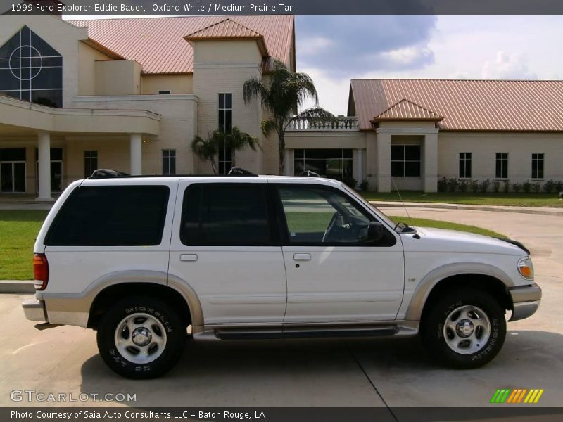 1999 ford explorer eddie bauer in oxford white photo no. Black Bedroom Furniture Sets. Home Design Ideas