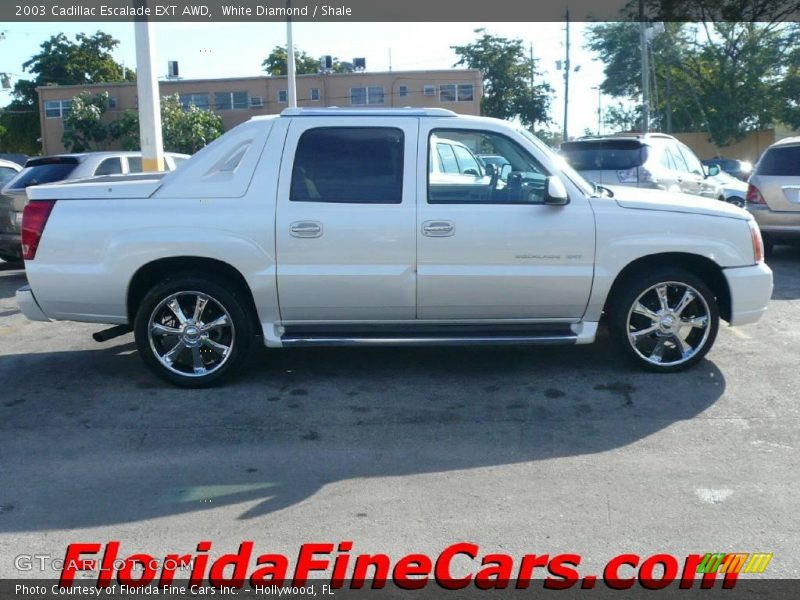 2003 cadillac escalade ext awd in white diamond photo no. Black Bedroom Furniture Sets. Home Design Ideas