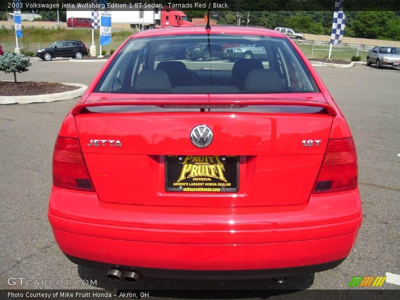 2003 volkswagen jetta wolfsburg edition 1 8t sedan in tornado red photo no 14859088. Black Bedroom Furniture Sets. Home Design Ideas