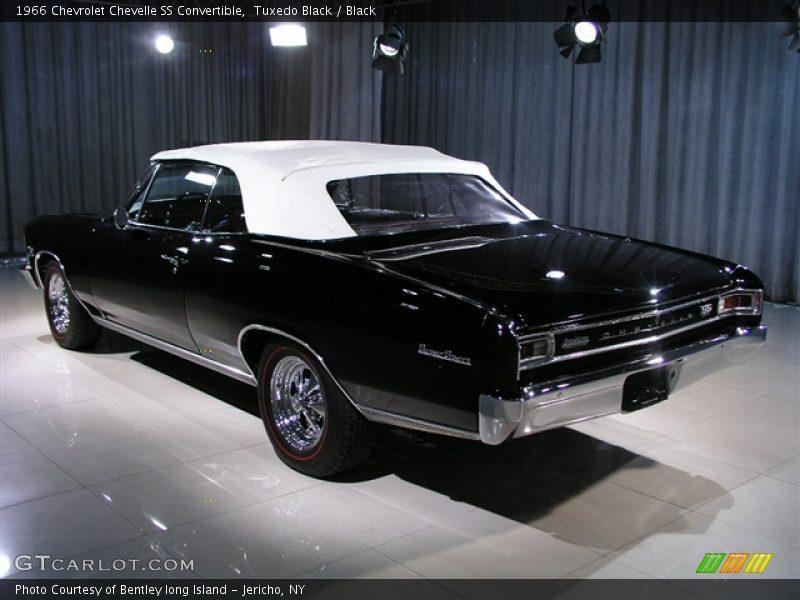 1966 Chevrolet Chevelle Ss Convertible In Tuxedo Black Photo No 149445
