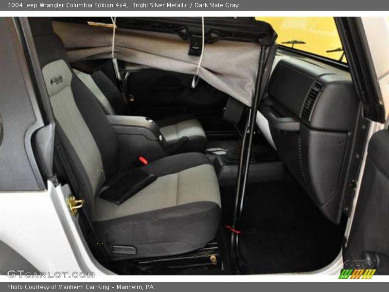 2004 jeep wrangler columbia edition 4x4 in bright silver metallic photo no 14950215. Black Bedroom Furniture Sets. Home Design Ideas