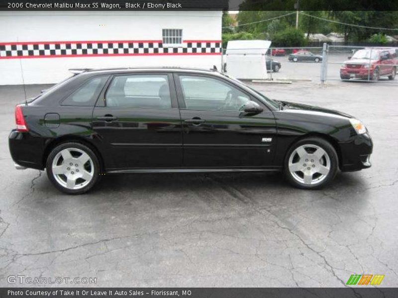 2006 Chevrolet Malibu Maxx SS Wagon in Black Photo No. 14956939 ...