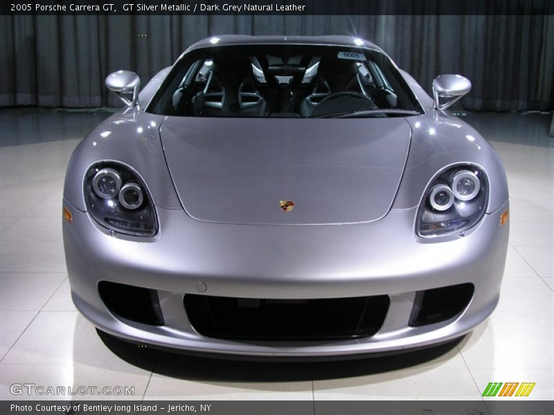 GT Silver Metallic / Dark Grey Natural Leather 2005 Porsche Carrera GT