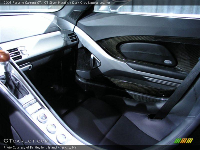 GT Silver Metallic / Dark Grey Natural Leather 2005 Porsche Carrera GT