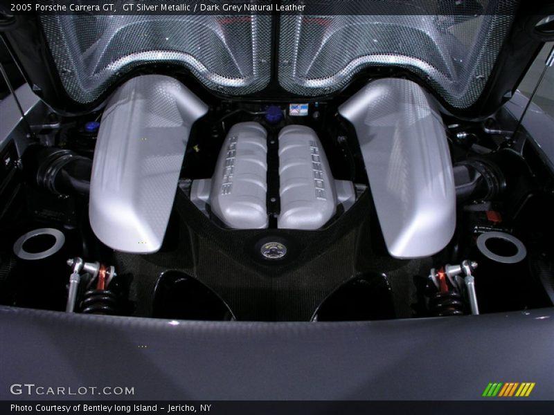 2005 Carrera GT  Engine - 5.7 Liter DOHC 40-Valve Variocam V10