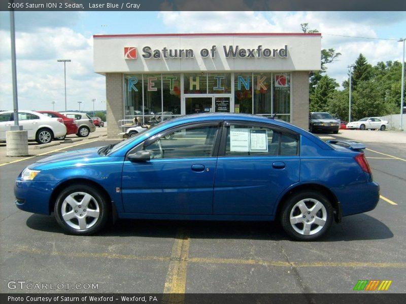 2006 Saturn ION 2 Sedan in Laser Blue Photo No. 15174044 ...  Saturn Ion 2006 Blue