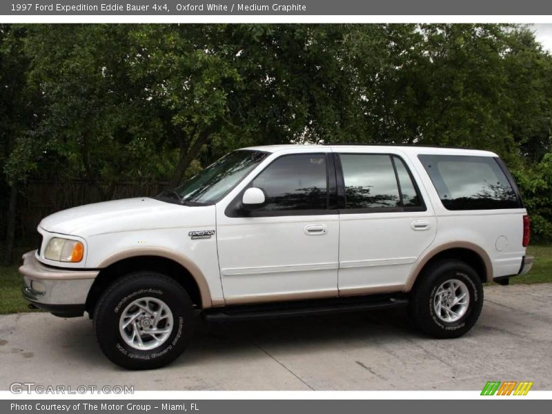 1997 ford expedition eddie bauer 4x4 in oxford white photo no 15222297. Black Bedroom Furniture Sets. Home Design Ideas